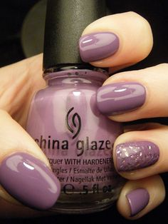 China Glaze - Spontaneous with China Glaze - Luxe and Lush ; NEED