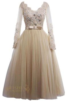 Look charming at your prom, sweet 16 party in this stunning short lace dress,cap sleeves with illusion top and zipper back.Champagne lining and short length. Neckline:V-neck Length:Floor length Detail