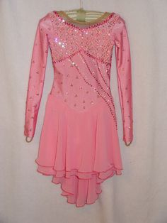 nice dress shape, deco would change...Ice Dance dress #63