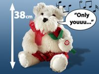 """Playtastic Singender Plüsch-Hund """"Only You"""" - selber adaptieren!"""