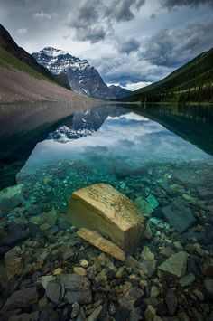 Moment of Clarity - Photography by Paul Zizka www.zizka.ca The incredible Consolation Lakes. So