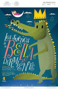 """""""Los sueños de la Bella Durmiente"""" de la  Compañía Marionetas de la Esquina en el Centro Cultural del Bosque."""