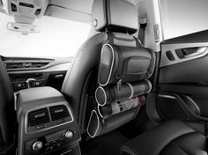 Keep everything neat and tidy with these Audi rear seat organisers.    Available here: www.m25audi.co.uk...