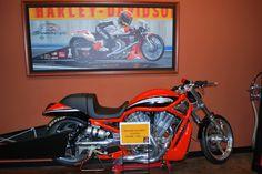 Harley Davidson VRod Drag Motorcycle