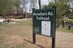 Horsebarn Rd Trail in Rogers