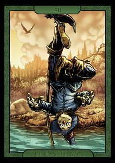 Shadow of Oz Tarot -- If you love Tarot, visit me at www.WhiteRabbitTarot.com