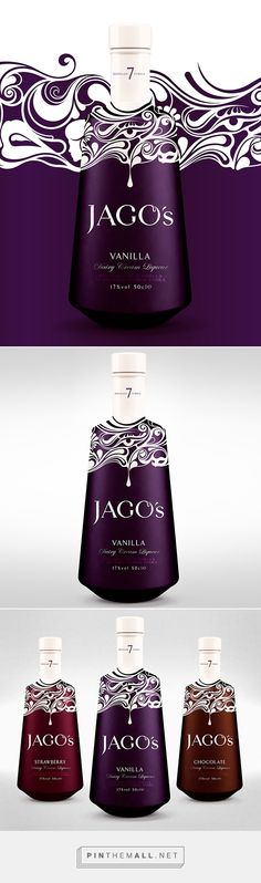 Jago Liqueurs by Steven Wilson. Pin curated by #SFields99 #packaging #design