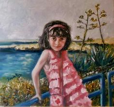 (Giorgia )dipinto olio su tela