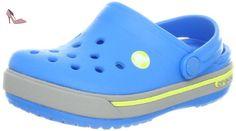 Crocs Band 2.5, Sabots mixte enfant, Bleu (Ocean/Citrus), EU 24-26, (US C8C9) - Chaussures crocs (*Partner-Link)