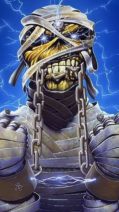 Iron maiden wallpaper by Alexandrokuhl - 27 - Free on ZEDGE™ Iron Maiden Powerslave, Arte Heavy Metal, Heavy Metal Bands, Dark Artwork, Skull Artwork, Iron Maiden Band, Eddie Iron Maiden, Iron Maiden Mascot, Iron Maiden Posters