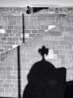 Shadows in Château du Taureau by Toskian, via Flickr