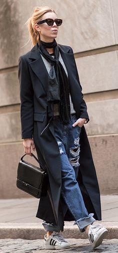 #StreetStyle #denim #coatOutfit #Fashion
