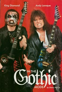 King Diamond and Andy LaRocque