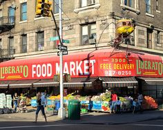 Helicopter Sign at Liberato Food Market, Washington Heights NYC (2008)