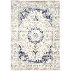 Found it at Wayfair - Verona Blue Area Rug