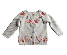 Girls Cream Embroidered Bunny Cardigan 9-12 months in Baby, Clothes, Shoes & Accessories, Girls' Clothing (0-24 Months)   eBay!