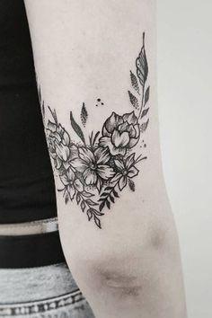 50 tatouages fleuris qui nous font envie #armtattoos