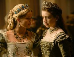 Jane Seymour & Mary Tudor Love Jane's dress