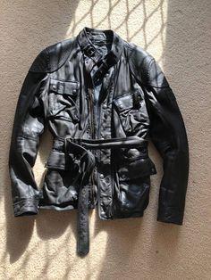 Belstaff Belstaff Speedmaster Leather Jacket Size US L / EU 52-54 / 3
