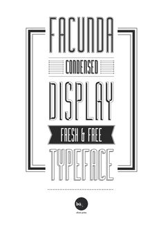 FACUNDA FREE FONT | by Bu!