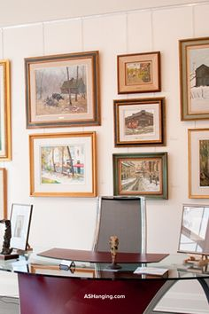 Creating a gallery wall or art display wall is a stylish way to add personality to a home. When done correctly, the results are timeless. This type of display holds up over time, and you will find yourself satisfied with your picture wall for years to come.