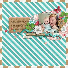 I Tell Real Stories by Darcy Baldwin  Snapshots by Tickled Pink Studios Part of the September Scrap Pack