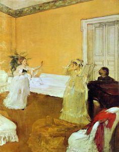 Edgar Degas 1873.