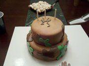 browning deer cakes