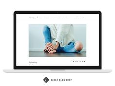 Responsive Minimal Wordpress Theme by Bloom Blog Shop on Creative Market