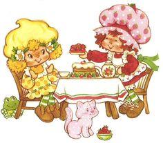Strawberry Shortcake Dolls, Lemon Meringue was my favorite.