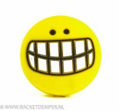 Tennis demper voor tennisracket BIG SMILE van www.racketdemper.nl