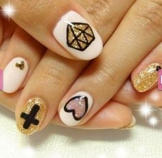 I love the shape...i wonder if I could get my nails to look like this with acrylic