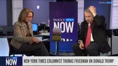 The New York Times' Thomas Friedman on how President-elect Donald J. Tru...