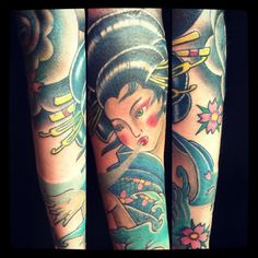 Museum Exhibit Shows Culture & Tradition of Japanese-Style Tattoos Beautiful Geisha by shop artist Museum Exhibition, Tattoo Blog, Museum Of Fine Arts, Japanese Style, Geisha, Artist At Work, Tattoo Artists, Culture, Traditional
