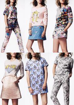 London Fashion Week   Spring/Summer 2014   Print Highlights   Part 2 catwalks
