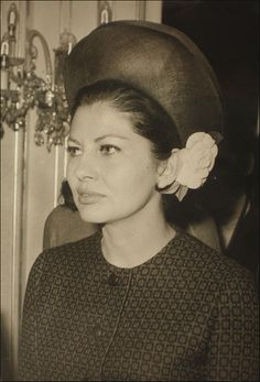 Ex-Queen Soraya, of Iran