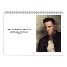 Channing Tatum  Street Workout Calendar by MovieShop on Etsy
