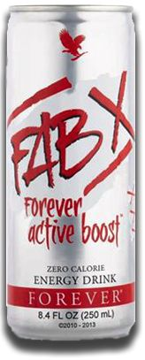 FAB X Energy Drink  $4.94 - the healthy energy alternative with all the vitamins, amino acids, and electrolytes minus the calories, carbs, or sugar. Get that immediate boost you need while benefitting from the long-term energy you want. Let FAB X power you through your day to achieve all you desire!