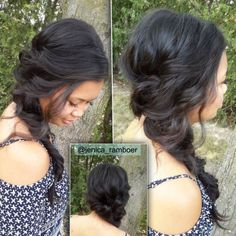 These side swept hairstyles are elegant, stylish and sexy. Check them out to get many ideas on how to pull your hair to the side. Finger Wave Hair, Finger Waves, Side Swept Hairstyles, Indian Hairstyles, Trends, Bangs, Your Hair, Hair Beauty, Braid