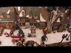 Christmas Village Mill Stream Dickens Village Dept 56