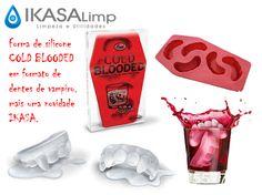 forma de silicone (Coold Blooded) no formato de dentes de vampiro