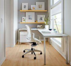 Portica L-Shaped Desks - Desks - Office - Room & Board