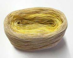 Wolles Color Changing Cotton #rivercolorsstudio #knitting #gradient