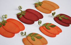 Thanksgiving DIY pumpkin kit  pack of 30 by diecut4you on Etsy, $9.00