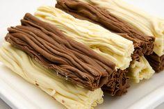 Chocolate en rama, una delicia