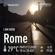 St. Peter's silhouette in a typical roman sunset.  Learn. Live. Love. Rome. With www.afriendinrome.it