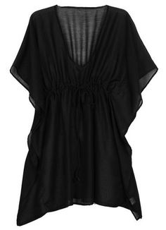 3ae82772e1 BEACH SPECIALS Sheer perfection! Sheer butterfly style tunic features an  adjustable empire waist drawcord.