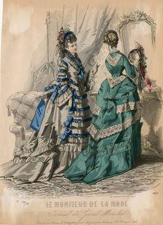 Le Moniteur de la Mode 1872