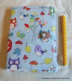 Notebook A6 - Blue Woodland - The Supermums Craft Fair
