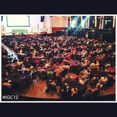 Corey Bordine keynote speaker at #igc12